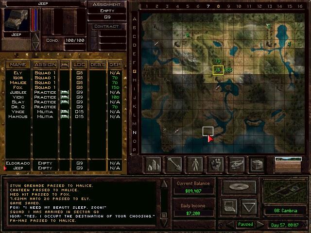 Jagged Alliance 2: Wildfire - Arulco Map Description