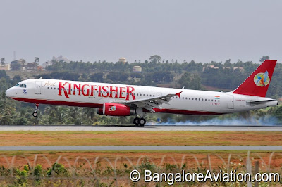 Kingfisher Airlines Airbus A321-200 VT-KFZ