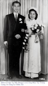 Mariage TẠ MỸ DUNG-LÊ HỮU ÂN ( 1954 )