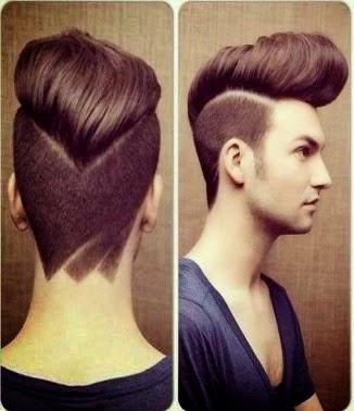 model rambut pria, gaya rambut pria, gaya rambut undercut, model rambut undercut