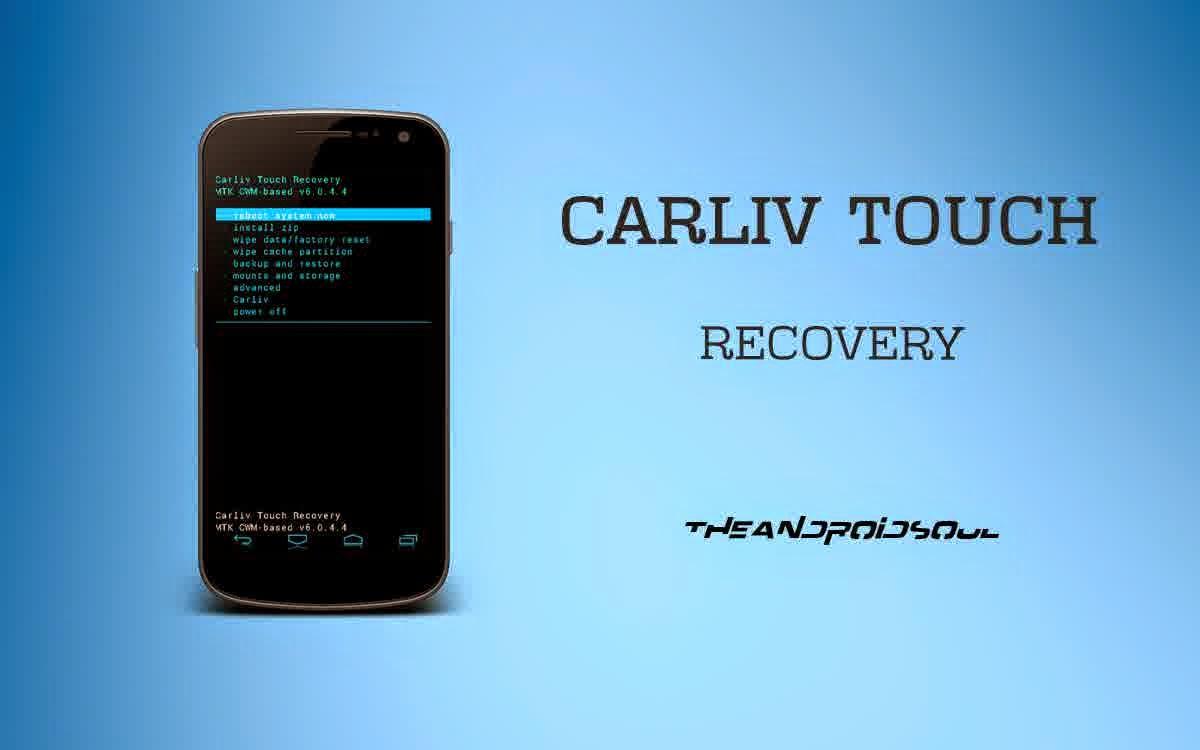 Cara install CarlivTouch Recovery Mito  A77 Fantasy Selfie