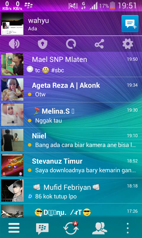 BBM Mod Transparan Version 2.7.0.23