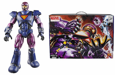 San Diego Comic-Con 2011 Exclusive Sentinel 19 Inch Marvel Universe Action Figure and Window Box Packaging by Hasbro