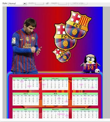 Cara Membuat Kalender dengan Photoshop Mudah dan Cepat