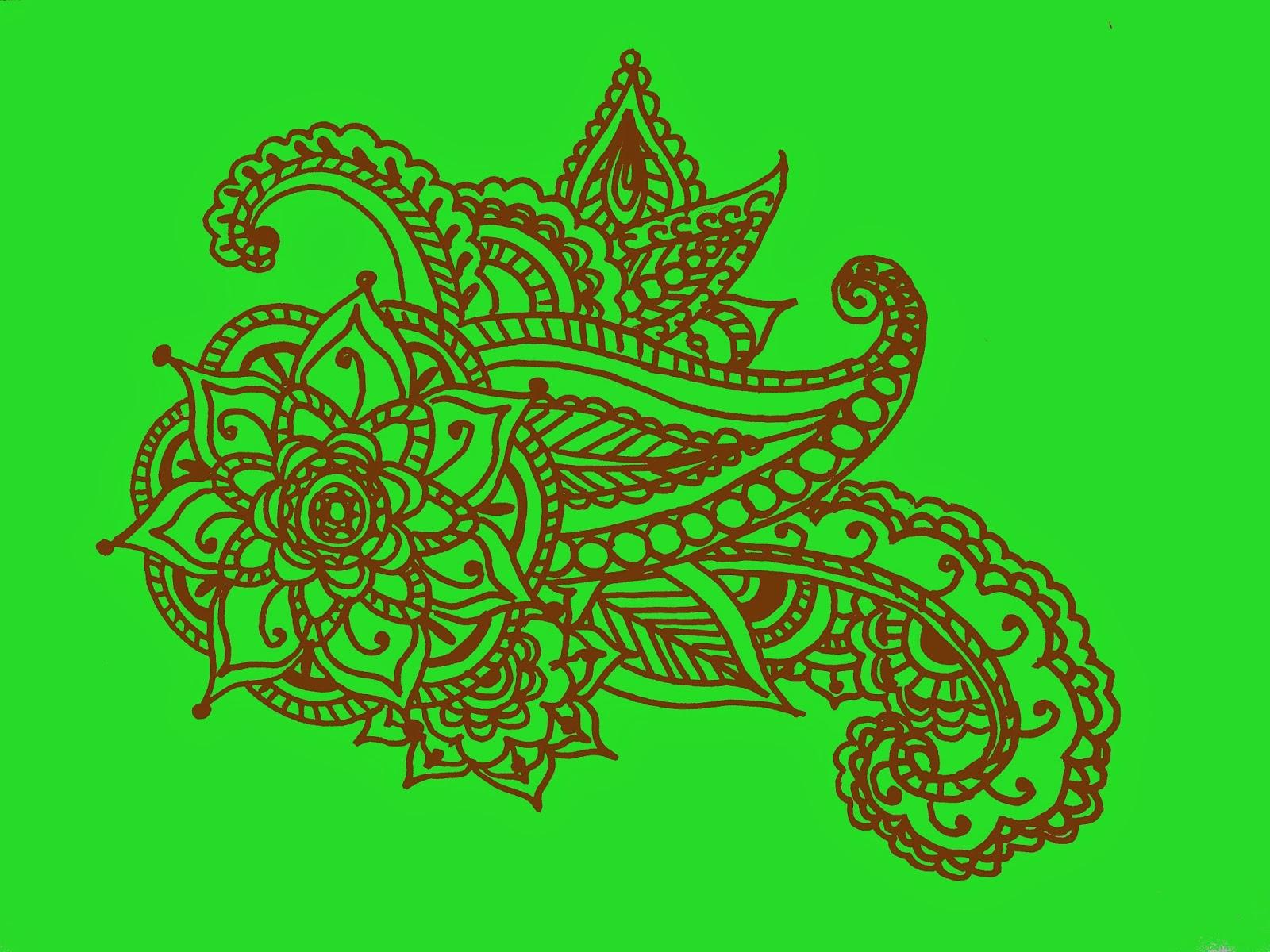 beautiful and good mehndi design