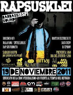 Rapsusklei en Guadalajara 2011