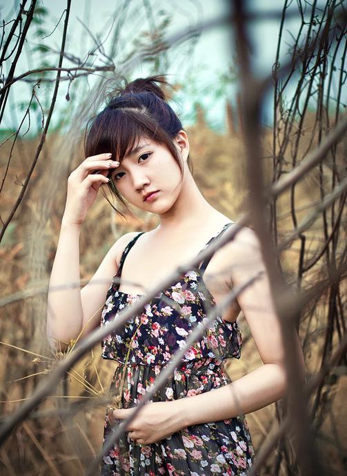 Ảnh gái xinh mỹ nhân Trung Quốc khoe sắc 32