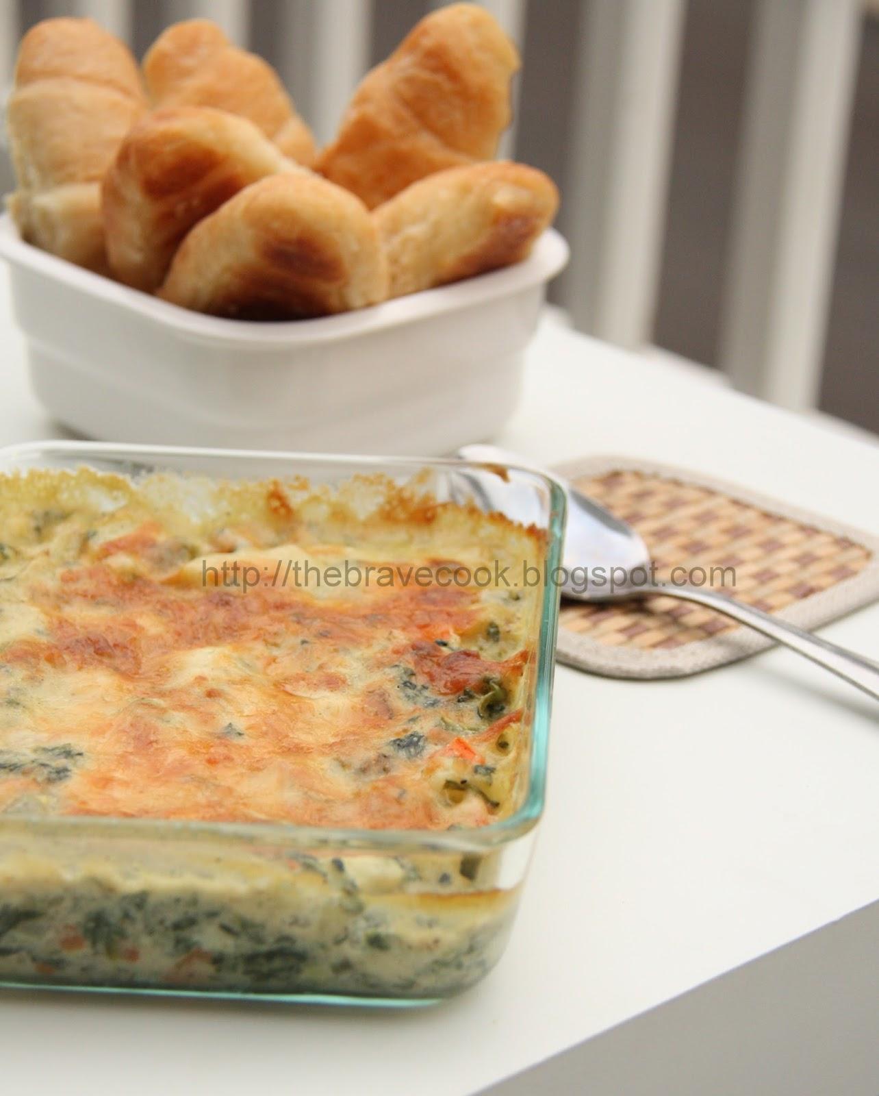 The Brave Cook: Vegetable Au Gratin