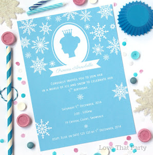Snow Princess Invitation