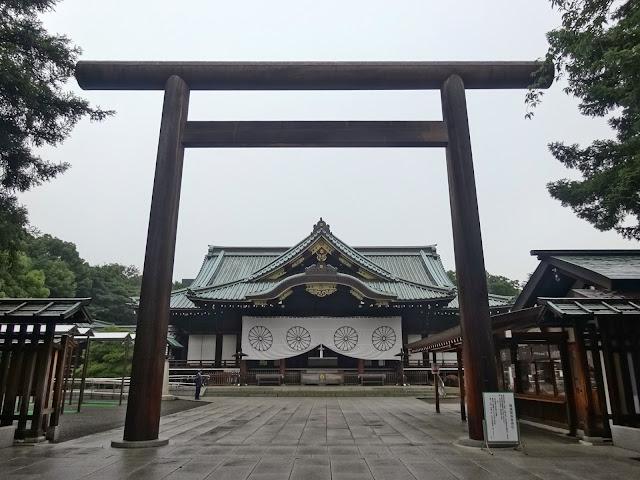 中門鳥居,拝殿,靖国神社〈著作権フリー無料画像〉Free Stock Photos