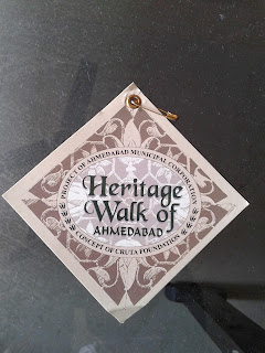The heritage walk of Ahmedabad