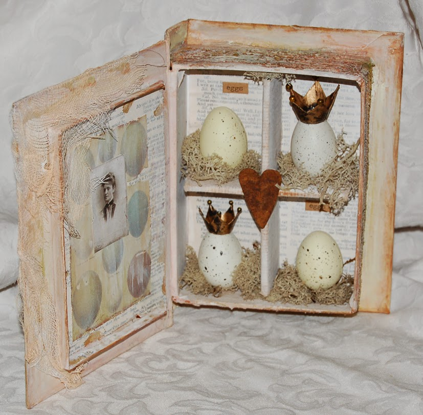 Zuzu's Petals 'n' Stuff: Book of eggs. for Calico Crafts
