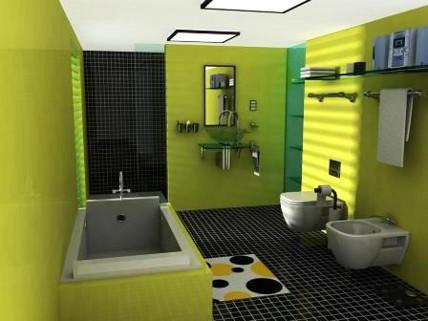 bentuk bentuk kamar mandi