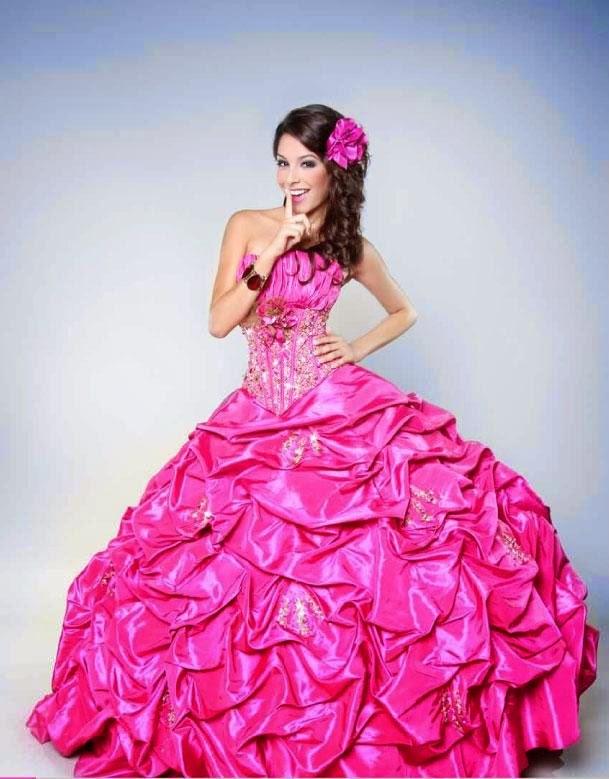Vestidos largos para fiesta de 15 años | Colección