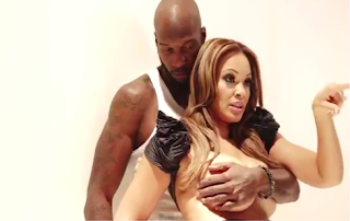 Posing Nude, Breast Evelyn Lozada crushed, Chad Ochocinco
