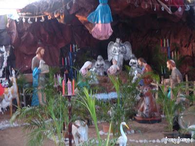 Christmas Crib St Thomas mount Chennai