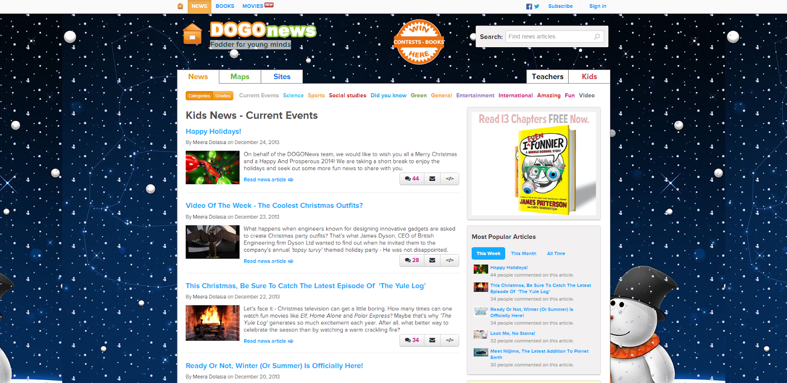 DOGO+News+++Kids+news+articles++Kids+current+events++plus+kids+news+on