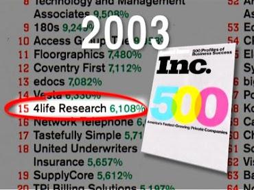 Inc. 500 - 4Life