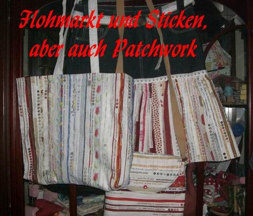 Flohmarkt und Sticken