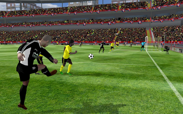 First Touch Soccer 2015 v2.06 Apk Mod [VIP + Unlimited Coins]
