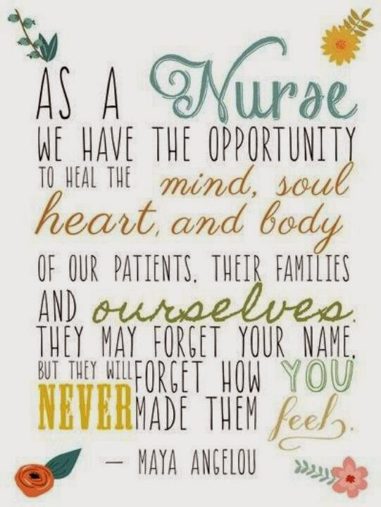 Maya Angelou Quotes About Nurses