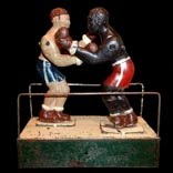Boxeurs jouet création