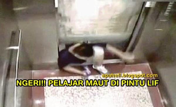Video : Pelajar Arkitek Maut Tersepit Di Pintu Lif ( 2 Gambar)
