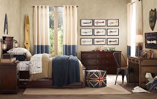 dormitorio adolescente estilo industrial