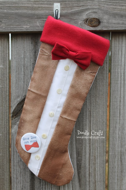 Fleece Christmas Stocking