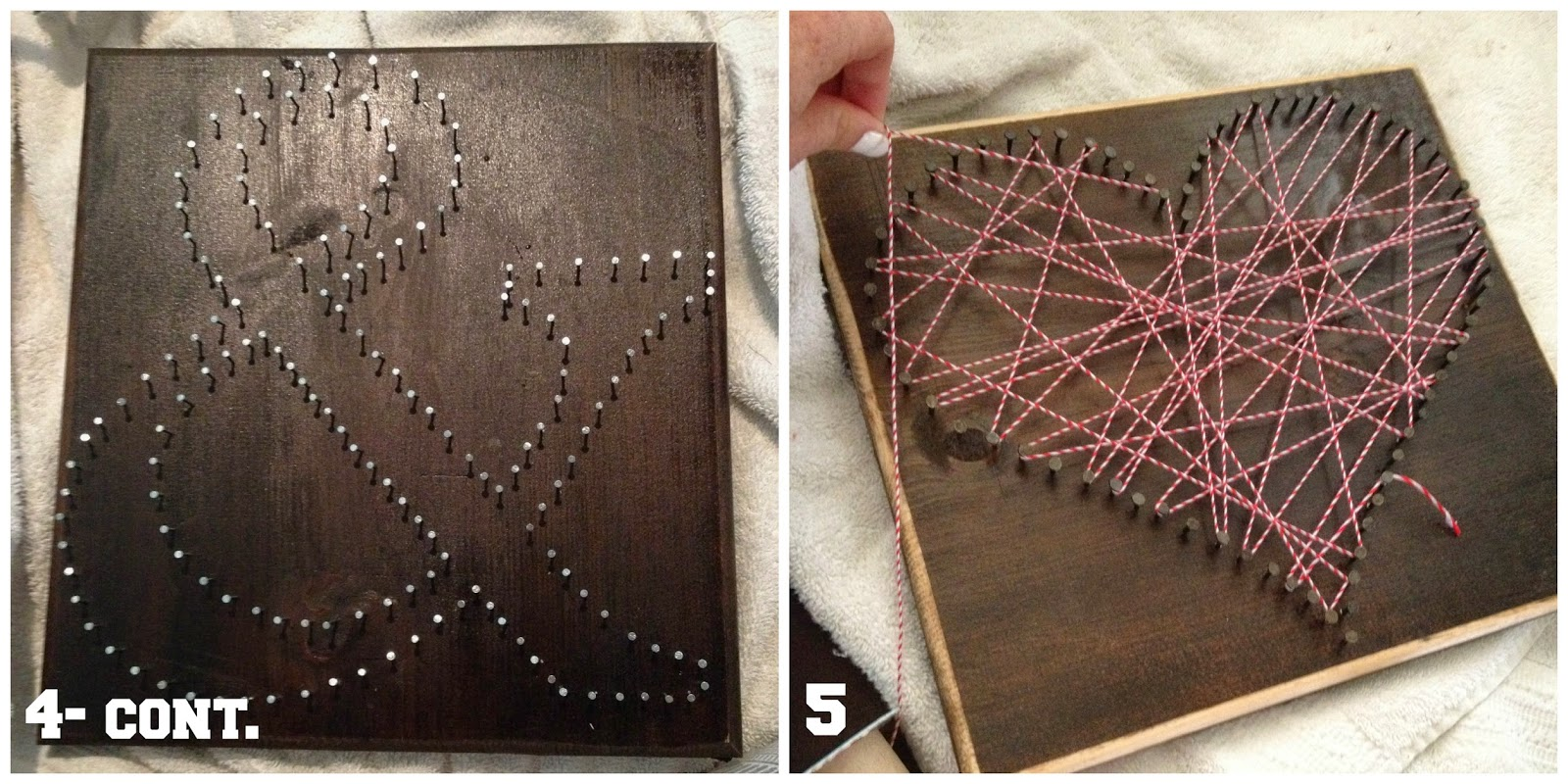 Diy String Art Kent Heartstrings String Art Diy Anchor Heart Ampersand