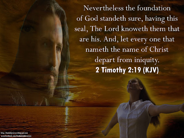 Image result for 2 Timothy 2:19.