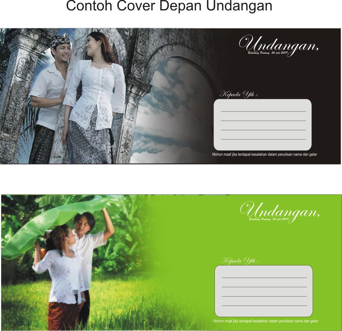 Contoh Undangan Pernikahan | Contoh Kartu Design Undangan Pernikahan