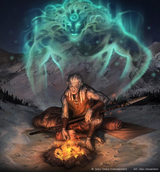 Alexander Alexandrov deviantart ilustrações fantasia games