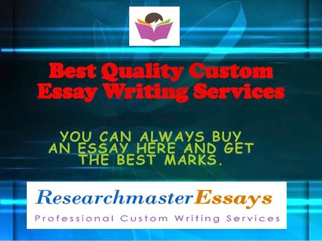 Who is the best custom writing service