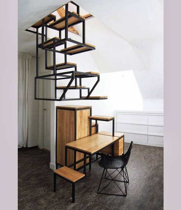 Escada suspensa – Bem Legaus