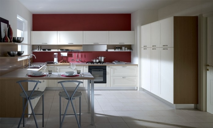 Furniture Interior Design: With the S70 kitchen with light wood frame door