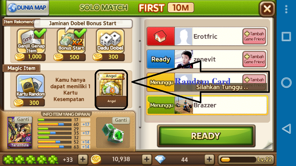 Tips Menang Pada Game LINE Let's Get Rich
