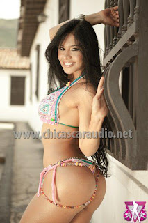 Angela serna colombiana modelo chica sexy car audio