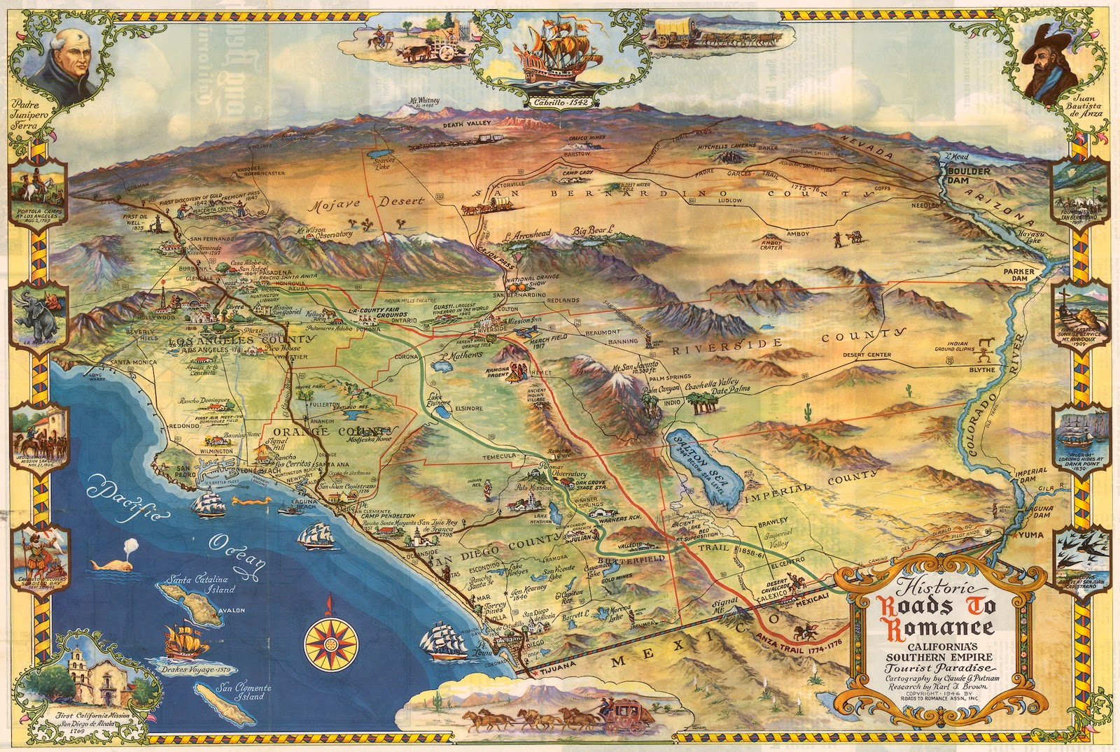 OC History Roundup November 2011 – Arizona Travel Map