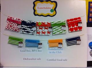 Lunchskin cotton fabric bags