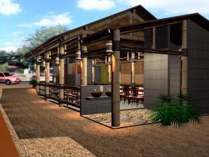 desain rumah terbaru on Desain Rumah Bambu Terbaru 2012 | bloggerspherepedia