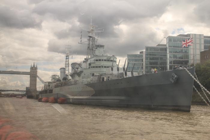 Pearl's Harbor Blog. London mit Kindern. Die HMS Belfast