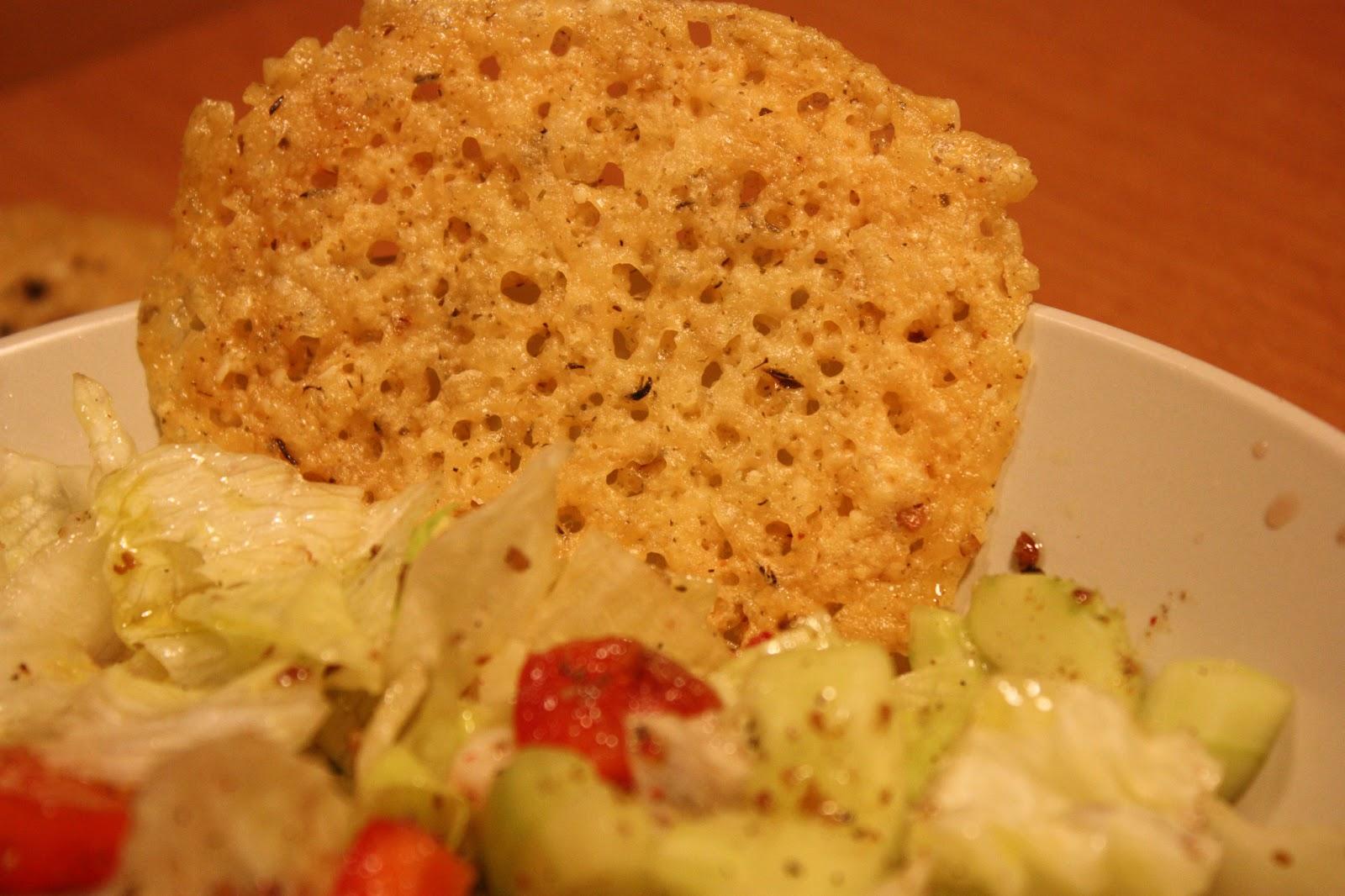 Low Carb Parmesan Crisps - Polish Housewife