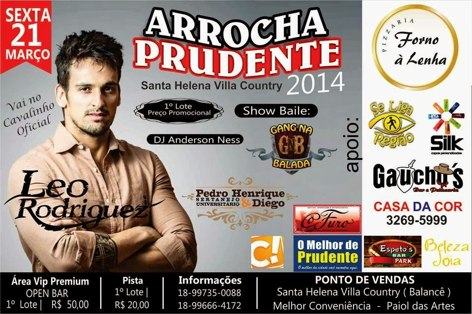 ARROCHA PRUDENTE 2014 !!!