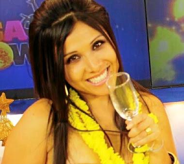 Tula Rodríguez feliz por Año Nuevo