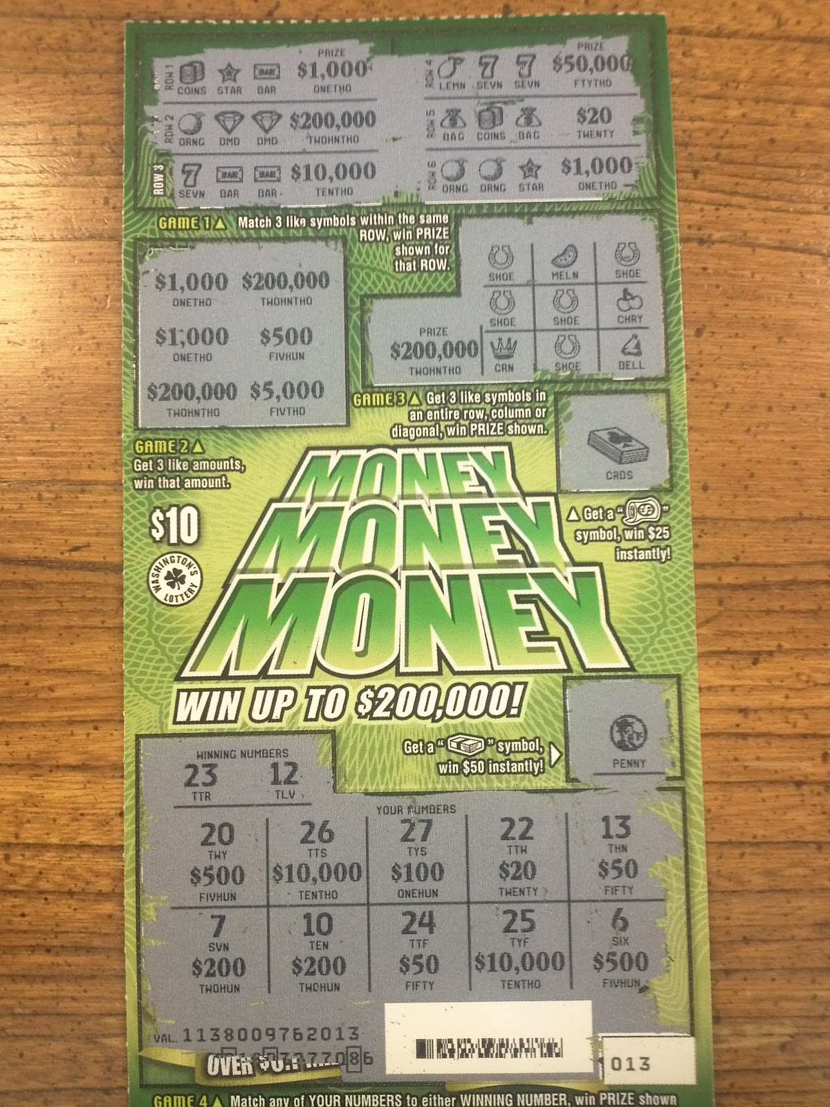 What scratch offs have the best odds