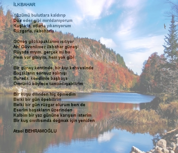 Ilkbaharla Ilgili şiirler