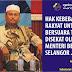 Khalid Ibrahim KHIANAT ... SABOTAJ ROADSHOW Hasan Ali! ... LIBERALIWAT Mengganas!