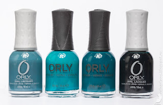 Orly Sapphire Silk Orly Teal Unreal Orly Makeup to Breakup Orly Le Chateau