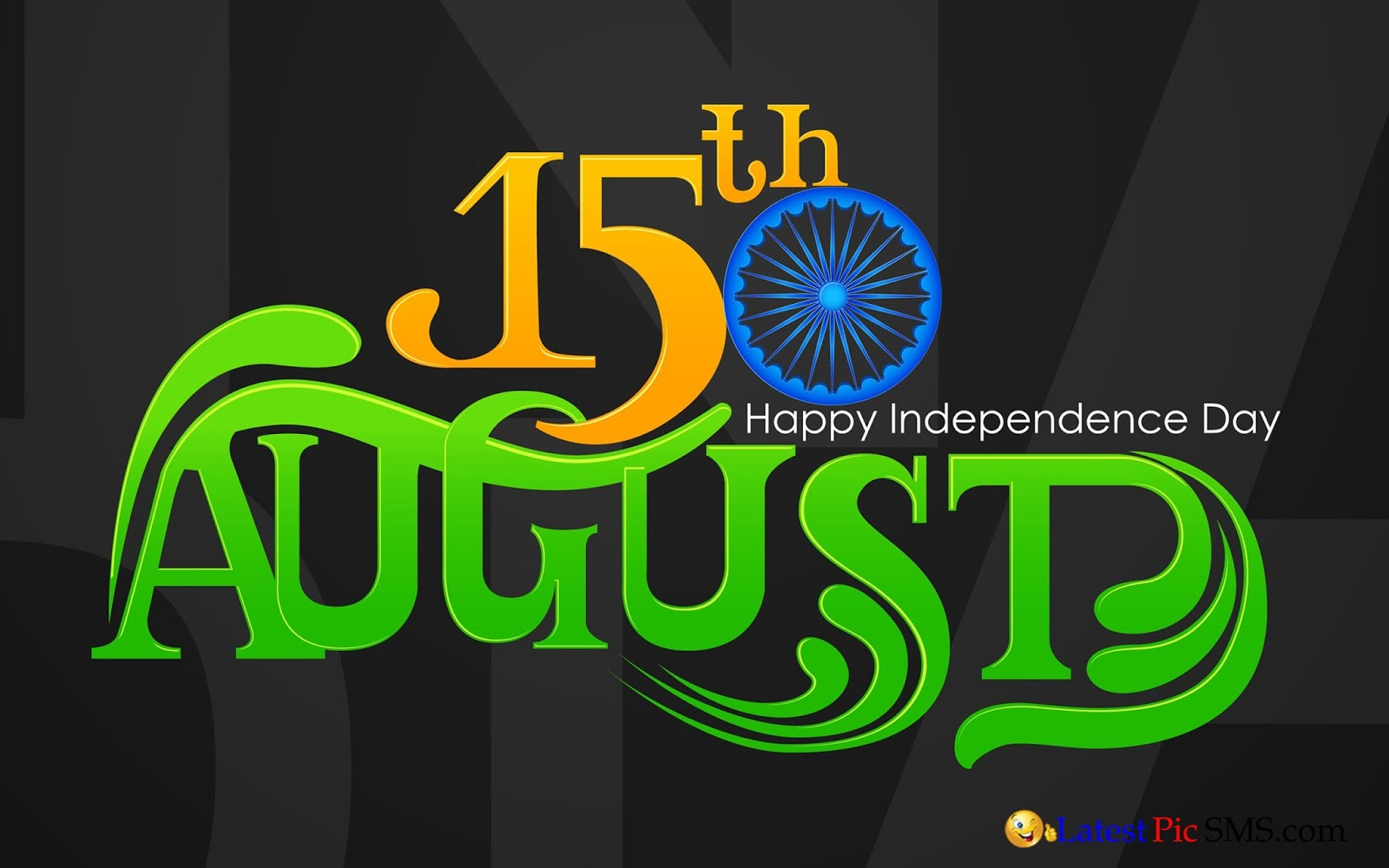 15th August Happy Independence Day Amazing Style Photo
